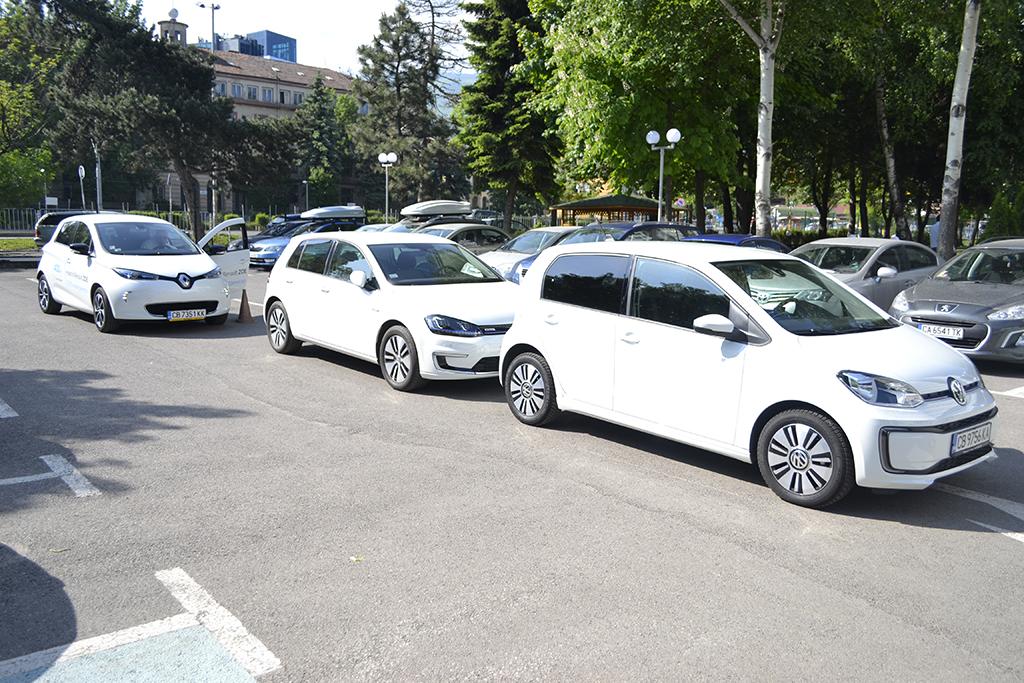 Четири ИТ компании се запознаха с предимствата на електромобилите