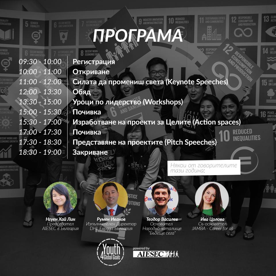 Младите хора в България разрешават световни проблеми